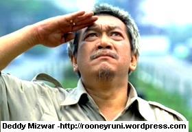 Foto Deddy Mizwar - Jenderal Naga Bonar Capres Indonesia 2009