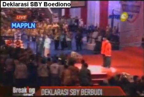 Deklarasi SBY Boediono