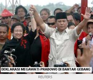 Deklarasi Megawati Prabowo di Bantar Gebang